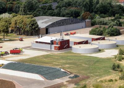 Biogas plant Baasdorf