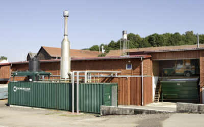 Graf zu Eltz biogas plant