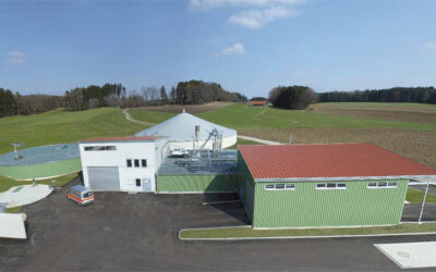 Biogas plant Gräfing