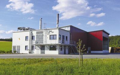 Biogasanlage Zirngibl mit Klärschlammtrocknung