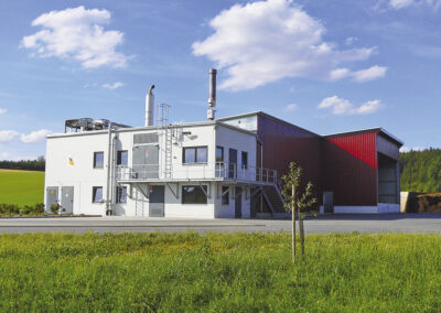 Biogas plant Zirngibl with sewage sludge drying