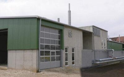 Biogas Power Plant Gut Siegenthan